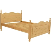 Super-King Size Premier Moscow Pine Low End Bed (6ft) - Free Delivery*