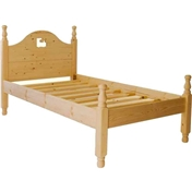 Single Premier Percy Pine Low End Bed (3ft) - Free Delivery*