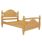 King Size Premier Rio Pine High End Bed (5ft) - Free Delivery*