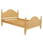 "Double Premier Pollensa Pine High End Bed (4ft 6"") - Free Delivery*"