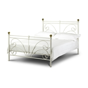 Cadiz Metal Queen Double High End Bed Frame - Free Next Day Delivery*