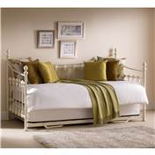 Versailles Daybed Metal Frame With Underbed Trundle - Free Next Day Delivery*