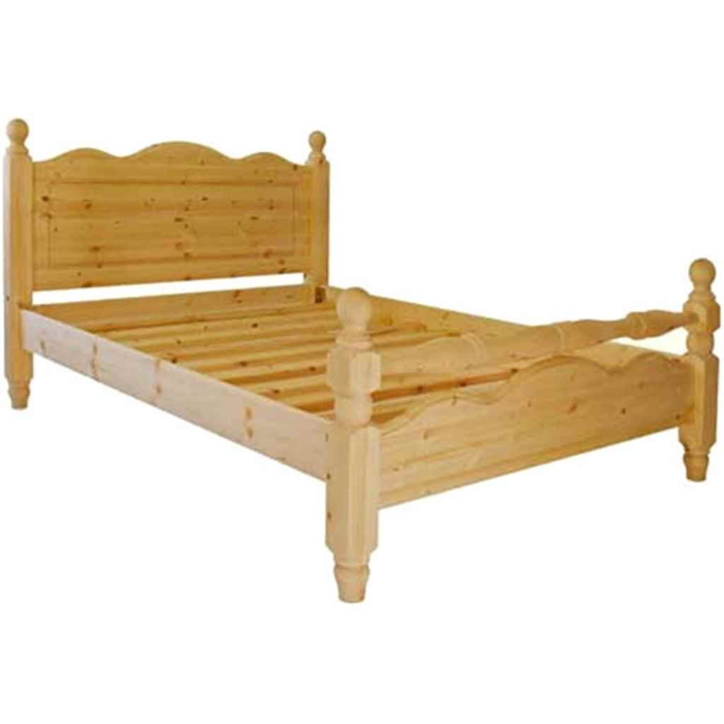 QUEEN SIZE PREMIER CHELSEA PINE HIGH END BED (4FT 6