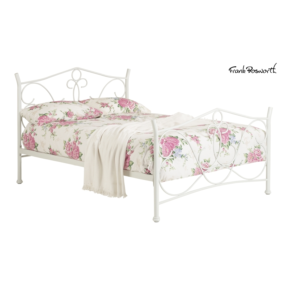 White King Size Metal Bed Frame 1024 x 1024