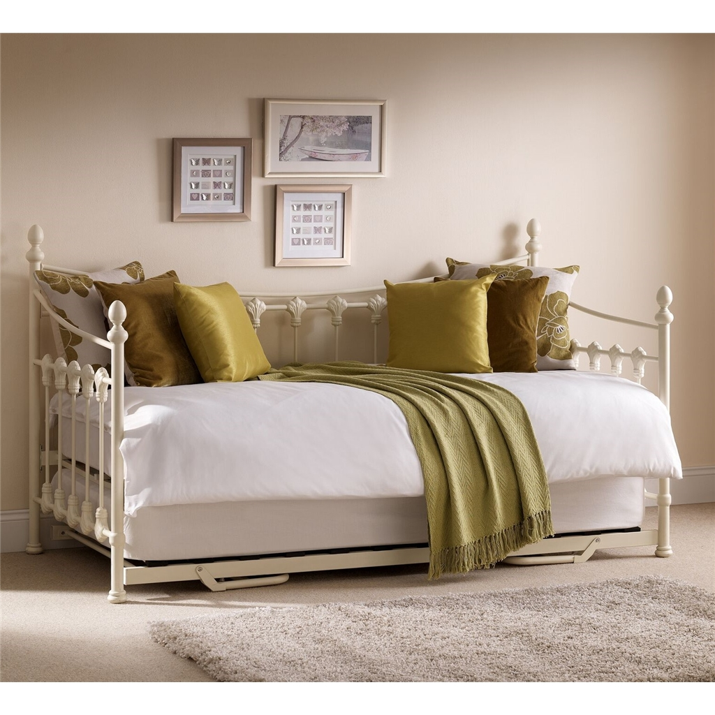 Ashfield Metal Frame Daybed With Underbed Trundle Single Ft