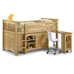 Premium Pine Style Sleep Station 3ft (90cm) - Free Next Day UK Delivery* - Best Seller