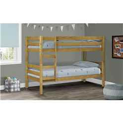 Pine Bunk Bed 2 x 3ft (90cm) - Free Next Day UK Delivery*