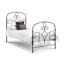 Mediterranean Style High End Metal Bed Frame - Single 3ft (90cm) - Free Next UK Day Delivery*