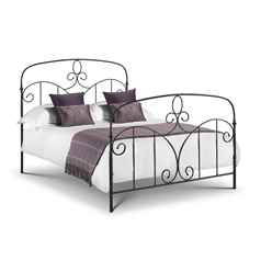 Mediterranean Style High End Metal Bed Frame - King Size 5ft (150cm) - Free Next UK Day Delivery*