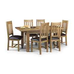 ** PRE ORDER - DUE W/c 22nd JANUARY ** Heritage Solid Oak Dining Set (Table + 6 Chairs)