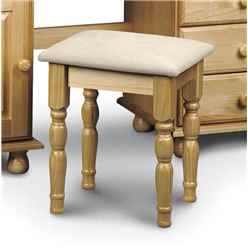 Traditional Solid Pine Dressing Stool