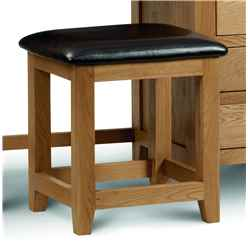 Stylish White Oak Dressing Stool
