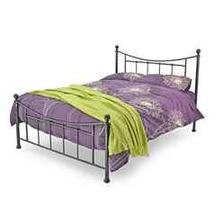 Bristol Black Metal Bed Frame - Single 3ft - Free Next UK Delivery*