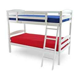 Moderna White Bunk Bed - Single 3ft