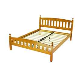Florence Antique Pine Bed Frame - Double 4ft 6""