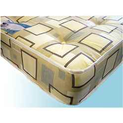 Open Coil Spring Mattress - Small Double 4ft - Free 48hr Delivery