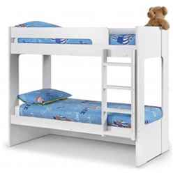 Premium All White Bunk Bed 2 x 3ft (90cm) - Best Seller