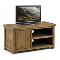 Rustic Reclaimed Pine TV Unit