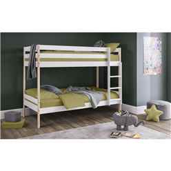 Classic 2 Tone Design Bunk Bed 3ft (90cm) - Best Seller