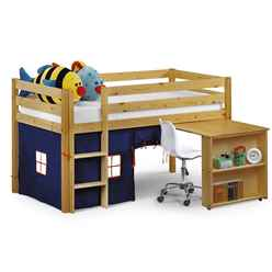 Pine Childrens Sleep Station 3ft (90cm) - Blue - Free Next Day UK Delivery*