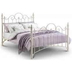 "Ornate High End Metal Bed Frame - Double 4ft 6"" (135cm)"