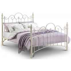 Ornate High End Metal Bed Frame - King Size 5ft (150cm) - Free Next UK Delivery*