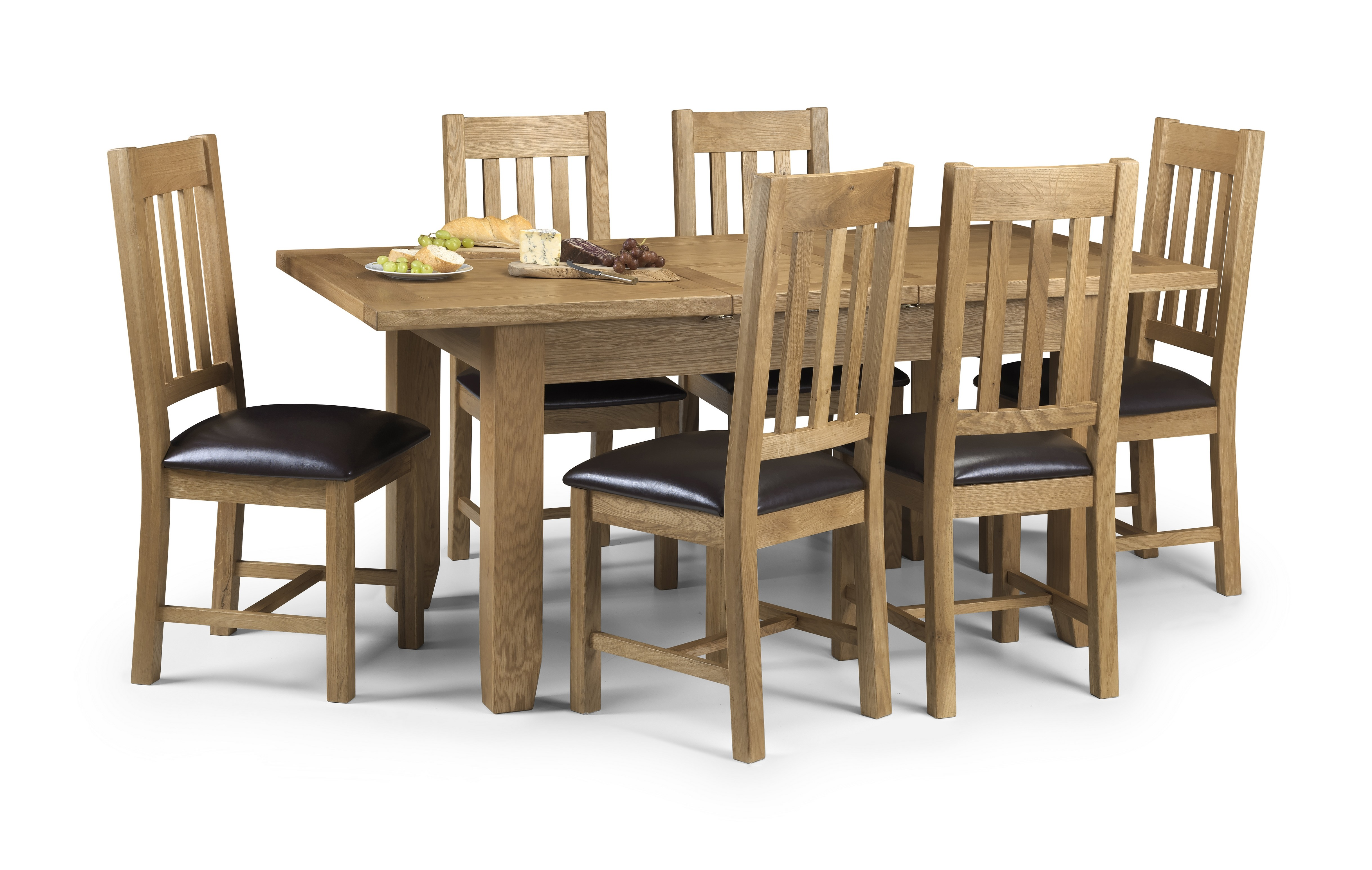 Wondrous Pre Order Due W C 22Nd January Heritage Solid Oak Dining Set Table 6 Chairs Squirreltailoven Fun Painted Chair Ideas Images Squirreltailovenorg